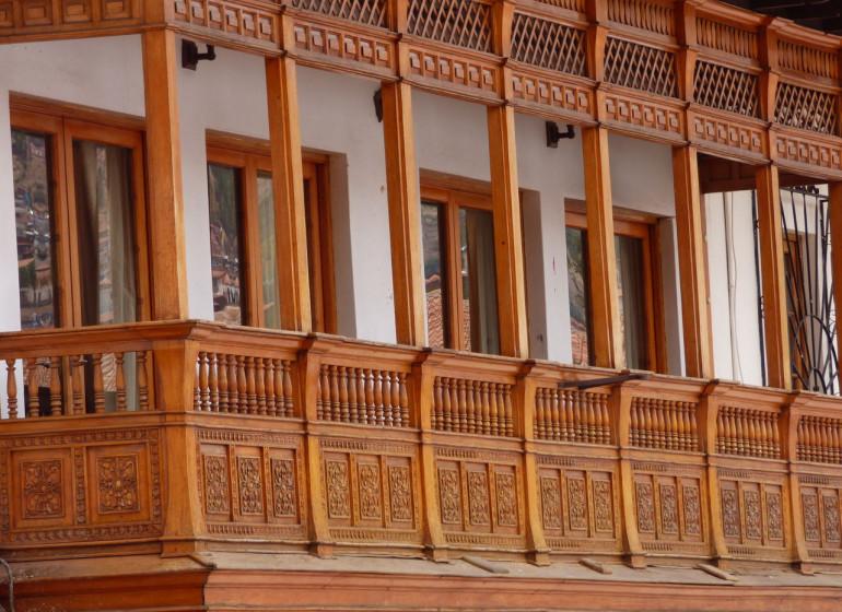 Pérou Voyage Cusco balcon typique