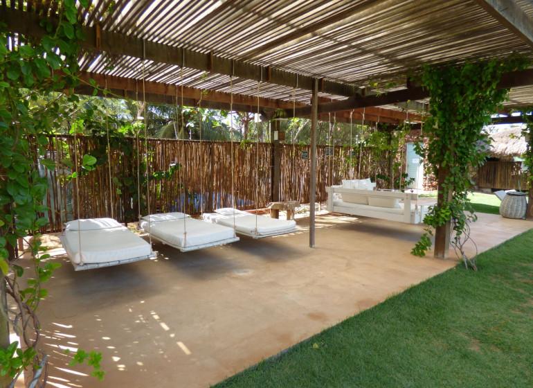 Brésil Voyage São Miguel de Gostoso Mi Secreto détente au jardin