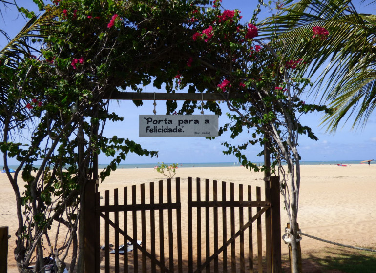 Brésil Voyage São Miguel de Gostoso Mi Secreto entrée plage