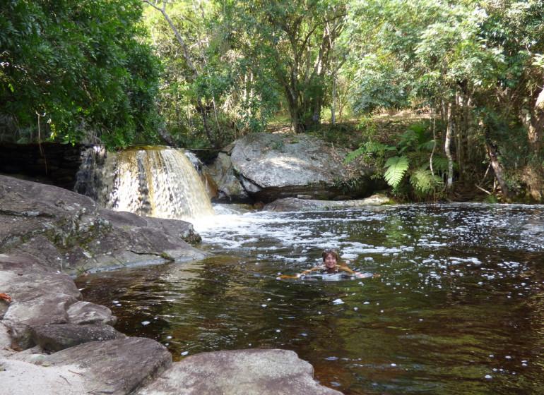 Brésil Voyage Ibitipoca Ecolodge piscine naturelle