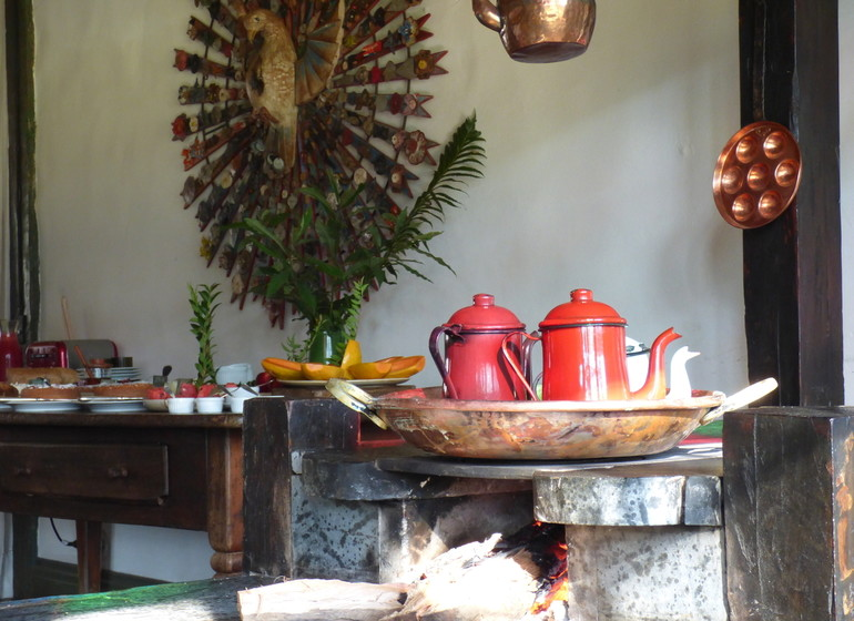 Brésil Voyage Minas Gerais Ibitipoca petit déjeuner