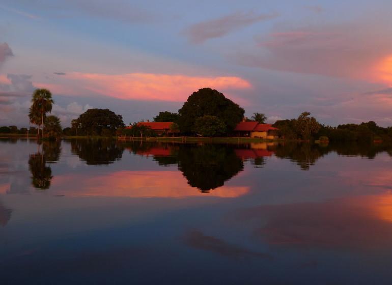 Brésil Voyage Pantanal Barranco Alto la fazenda en saison des pluies
