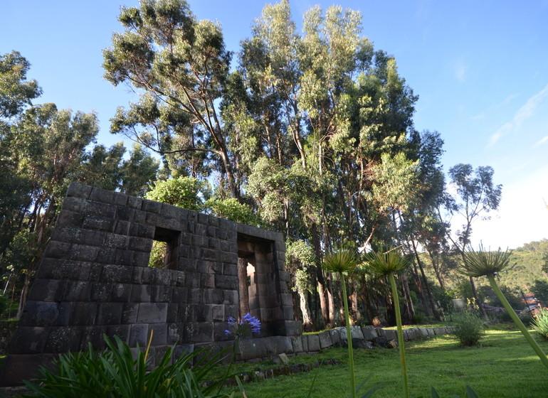 Pérou Voyage Cusco Palacio Manco Capac jardin