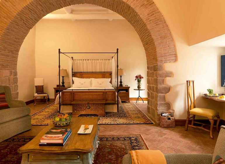 Pérou Voyage Cusco Palacio Nazarenas suite master