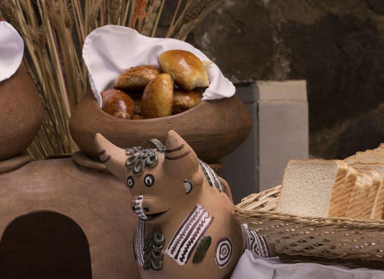 Pérou Voyage Cusco Hotel Encantada pain frais