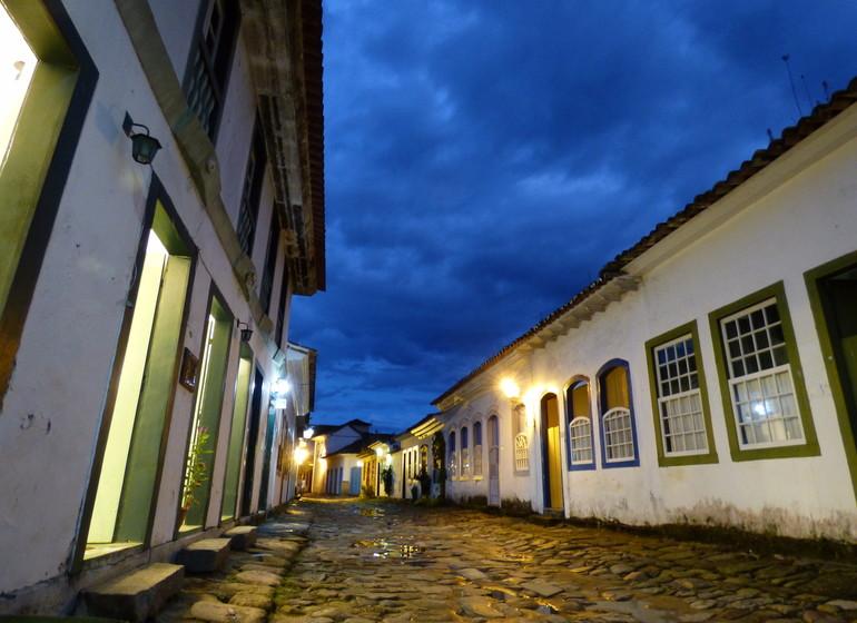 Brésil Voyage Paraty centre historique