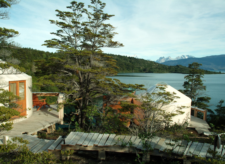 Chili Voyage Patagonia Camp vue lac
