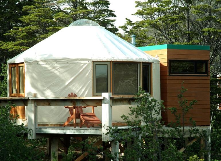 Chili Voyage Patagonia Camp bungalow extérieur