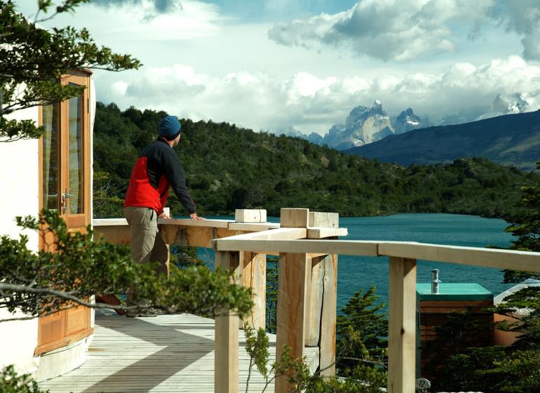 Chili Voyage Patagonia Camp  sur le balcon