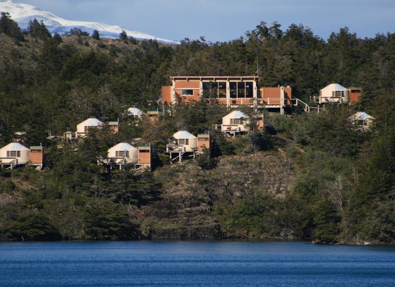 Chili Voyage Patagonia Camp vue d'ensemble