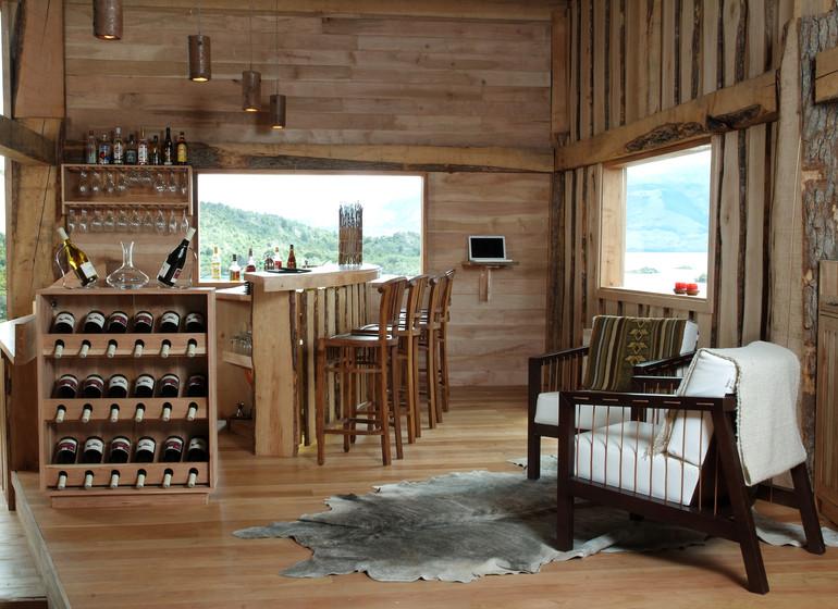 Chili Voyage Patagonia Camp bar