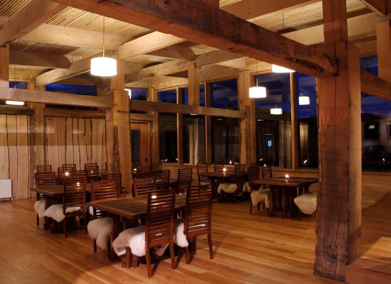 Chili Voyage Patagonia Camp restaurant