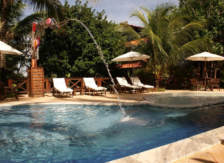 Brésil Voyage Pipa Thalassa Pousada piscine