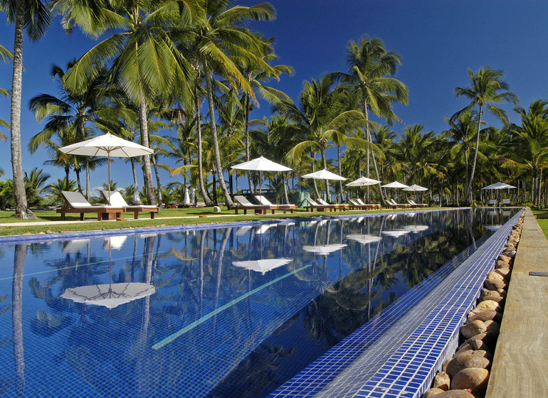 Brésil Voyage Txai Resort piscine olympique