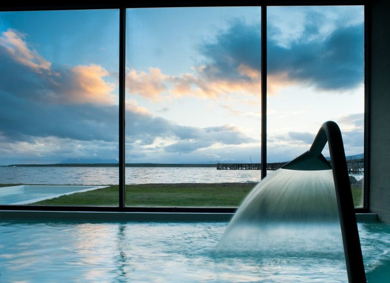 Chili Voyage The Singular Patagonia spa piscine