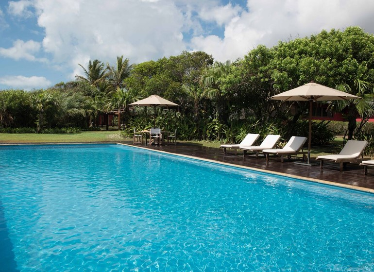Brésil Voyage Trancoso Tutabel piscine