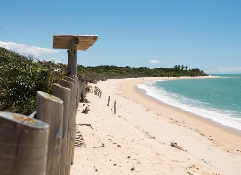 Brésil Voyage Trancoso Tutabel plage