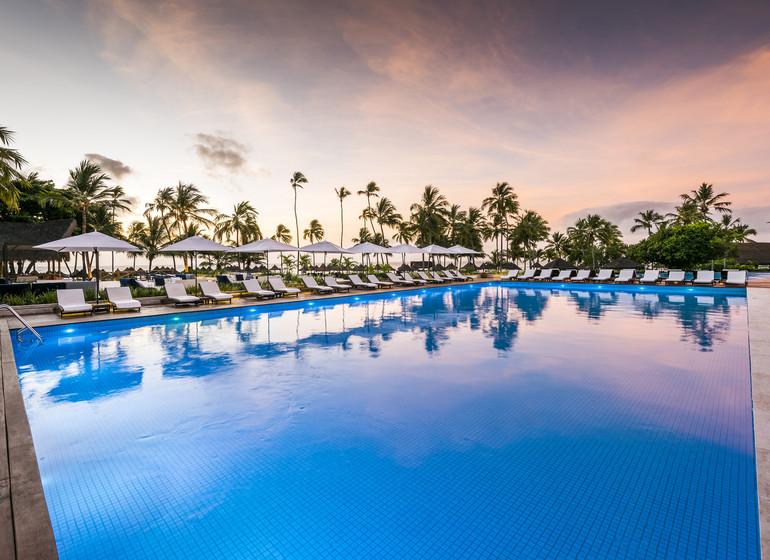 Brésil Voyage Bahia Praia do Forte Tivoli Ecoresort piscine géante