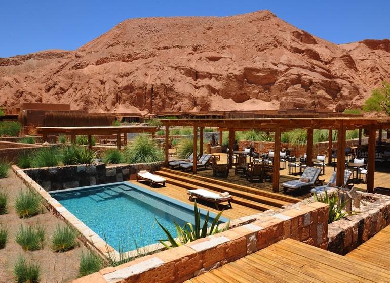 Chili Voyage Alto Atacama une des 7 piscines