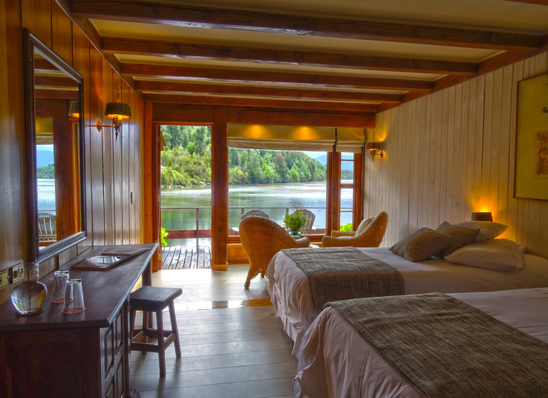 Chile Voyage Puyuhuapi Lodge chambre twin