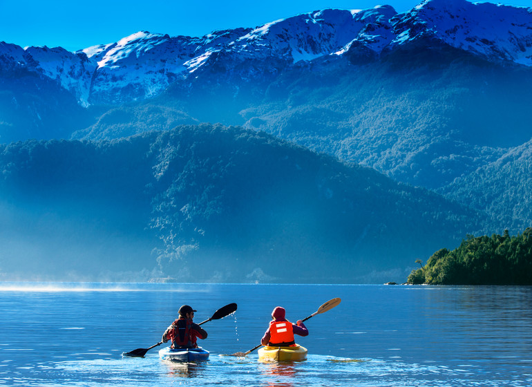 Chile Voyage Puyuhuapi Lodge excursion canoë