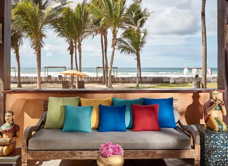 Brésil Voyage Zorah Beach fenêtre sur la mer