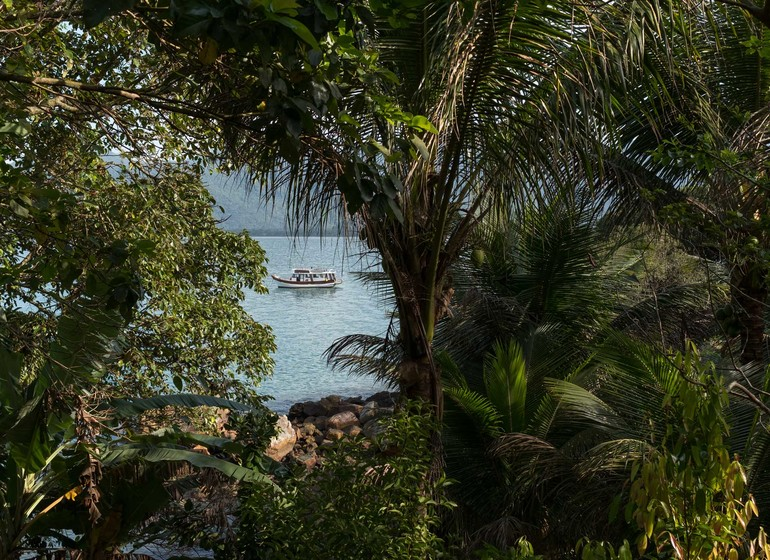 Brésil Voyage Picinguaba Pousada vue