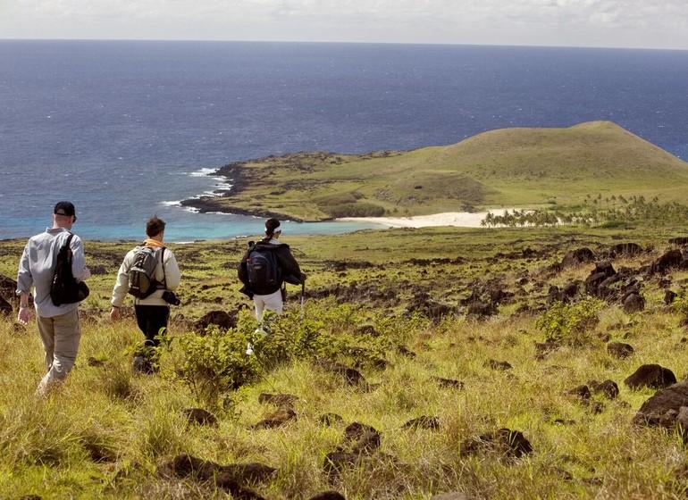 Chili Voyage Explora Rapa Nui randonnée