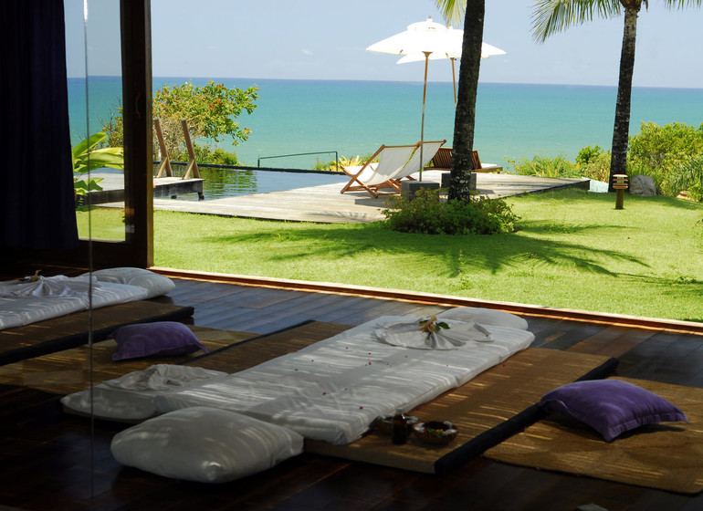 Brésil Voyage Txai Resort vue depuis le Spa