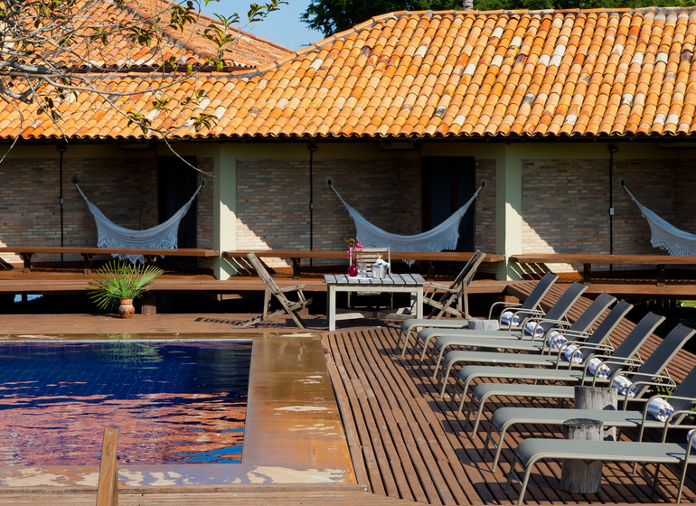 Brésil Voyage Pantanal Caiman Ecolodge Baiazinha Lodge piscine