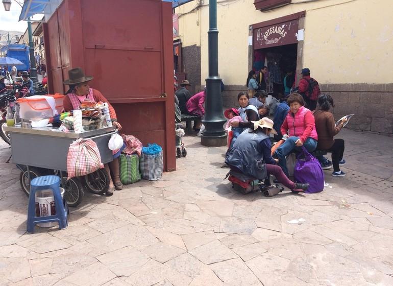 Pérou Voyage scène de rue