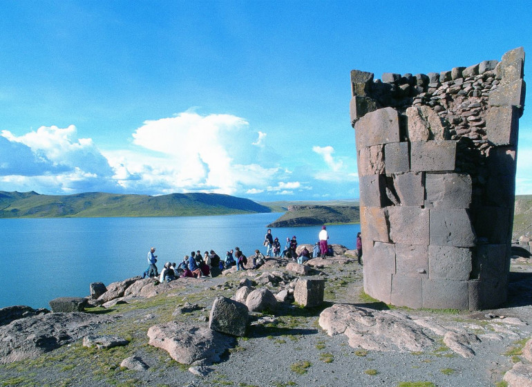 Pérou Voyage Lac Titicaca  Sillustani