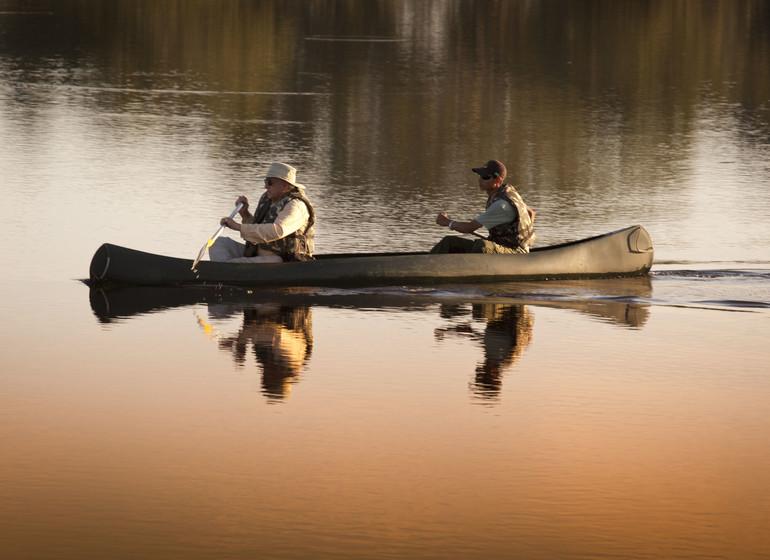 Brésil Voyage Pantanal Caiman Ecolodge  excursion en canoe