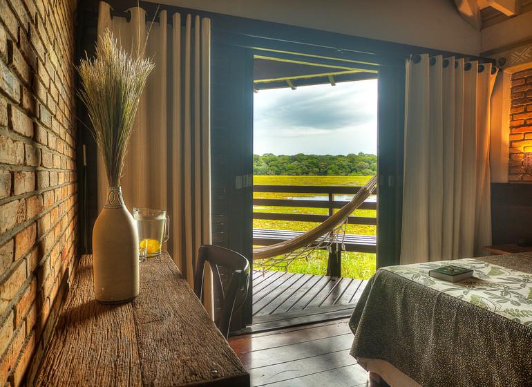 Brésil Voyage Pantanal Caiman Ecolodge Cordilheira Lodge chambre