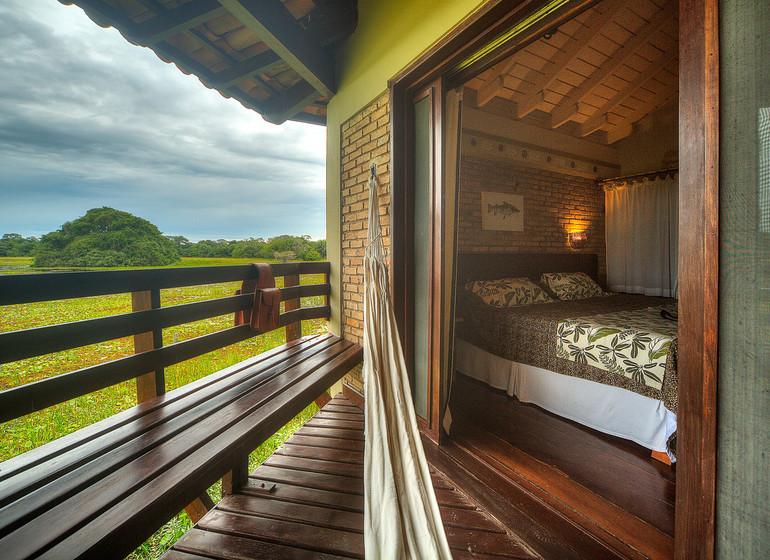 Brésil Voyage Pantanal Caiman Ecolodge Baiazinha Lodge chambre