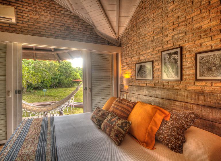 Brésil Voyage Pantanal Caiman Ecolodge  Lodge chambre