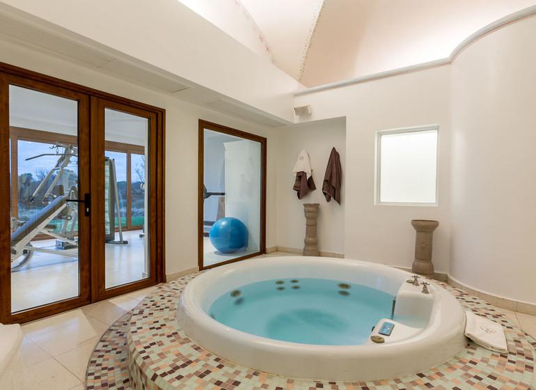Argentine Voyage Estancia El Colibri salle de bains