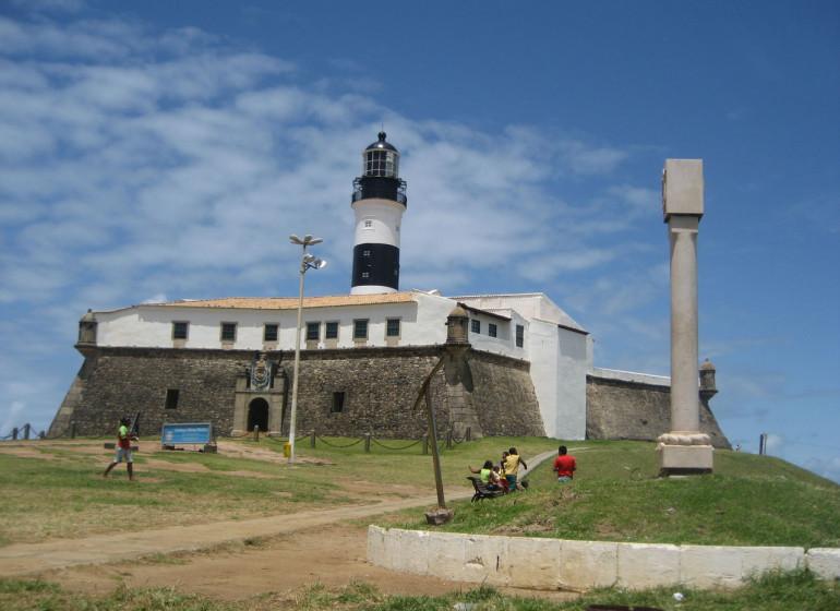 Brésil Voyage Salvador de Bahia Forte de Santo Antonio