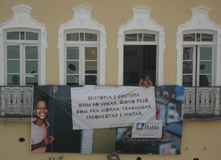 Brésil Voyage Salvador de Bahía Pelourinho facade