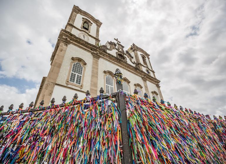 Brésil Voyage Salvador de Bahia église