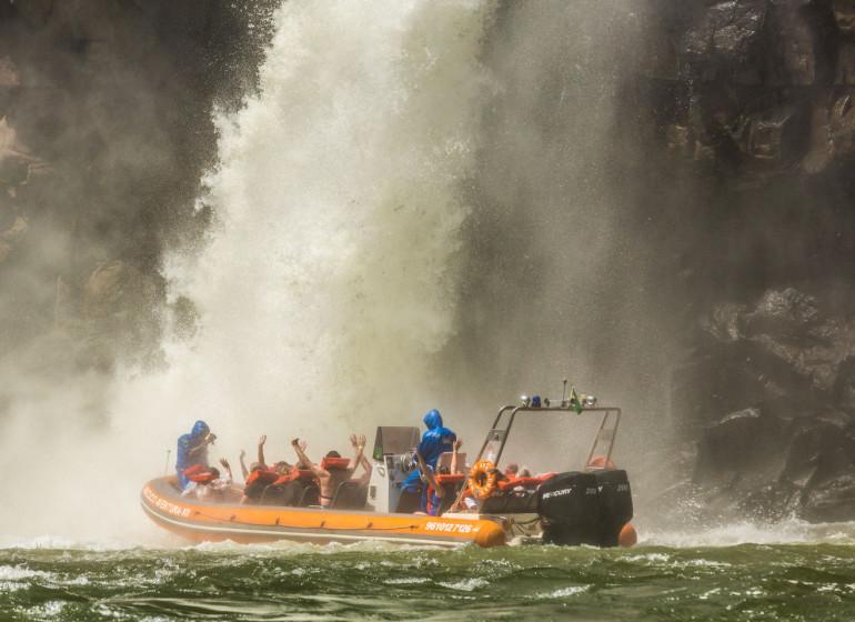 Brésil Voyage Iguaçu près des chutes