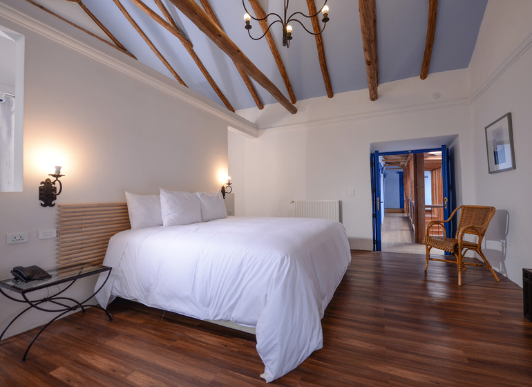 Pérou Voyage Cusco Quinta San Blas chambre double