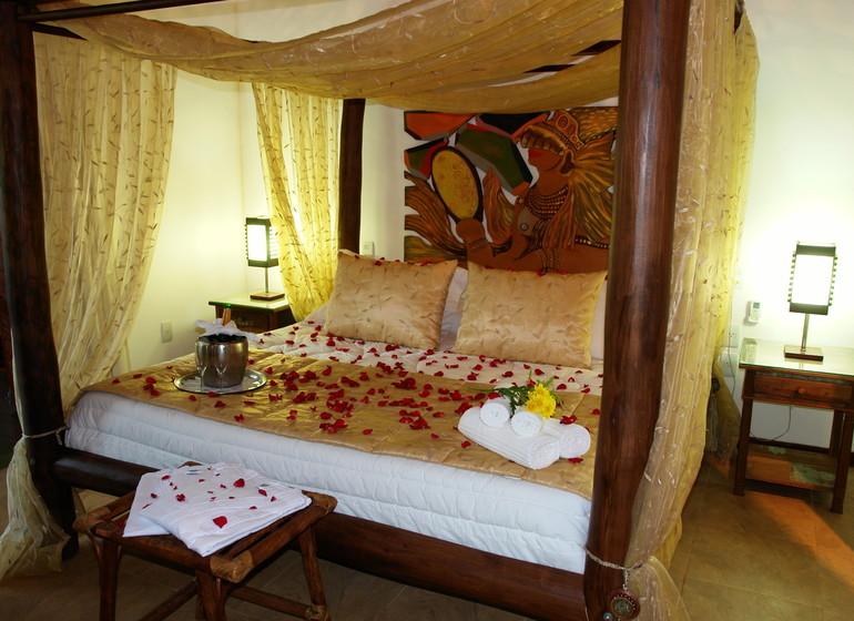 Voyage Pipa Thalassa Pousada chambre double déco honeymoon