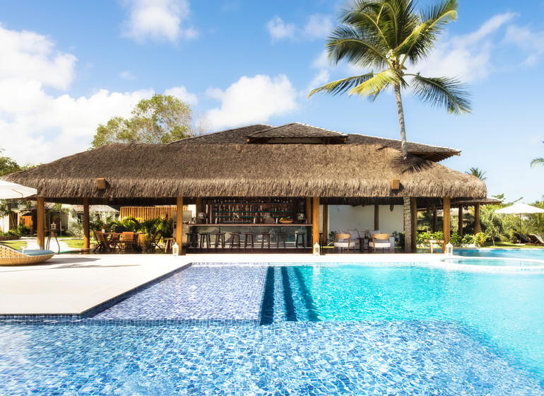 Brésil Voyage Campo Bahia Hotel piscine