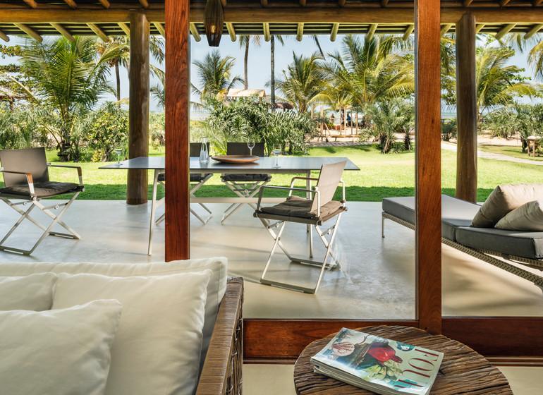 Brésil Voyage Campo Bahia Hotel suite salon
