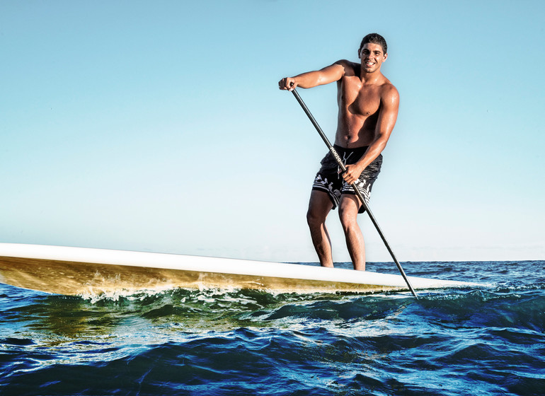 Brésil Voyage Campo Bahia Hotel standup paddle
