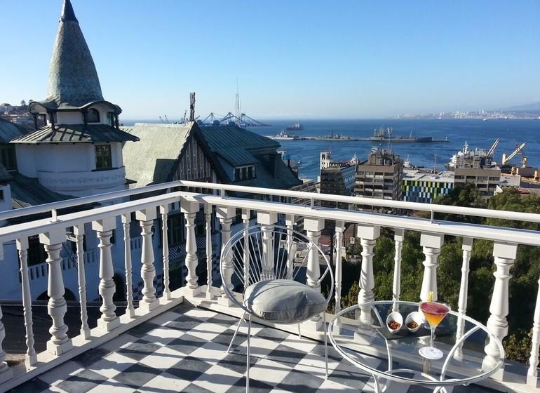Chili Voyage Palacio Astorecco salon terrasse