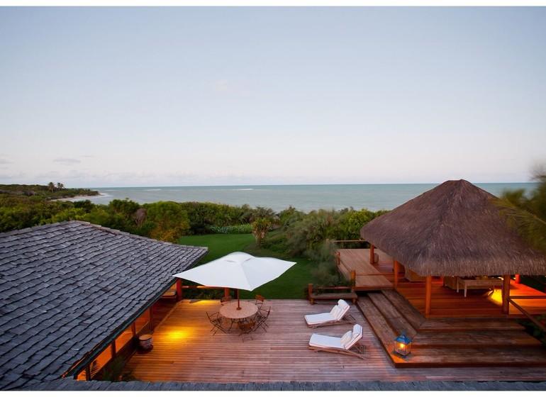 Brésil Voyage Trancoso Tutabel terrasse avec vue