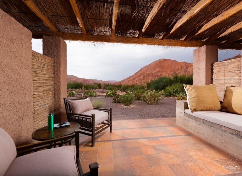 Chili Voyage Alto Atacama veranda