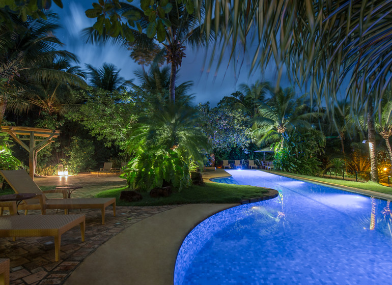 Brésil Voyage Pipa Toca da Coruja piscine !